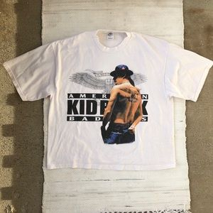 Kid rock American bad ass tour t shirt